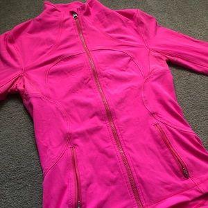 Lululemon Define Jacket *rare* HOT PINK size 6